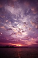 sunset at ancol by Alvin-Bake