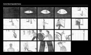 Comic Book Scene Storyboard by MJStarchilde