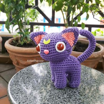 [FREE SHIPPING] Luna from Sailor Moon amigurumi by NVkatherine