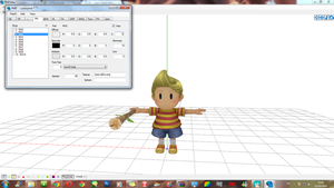 WIP MMD -  Recovery model - Lucas by JackFrostOverland