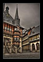 city hall of wernigerode by matze-end