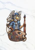 Art-Gryphon Finalbadge by Art-Gryphon