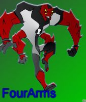 BEN10 I.G.: FourArms by Hero-Jaxx