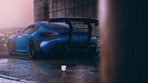 Fat Monster porsche cayman by rainprisk