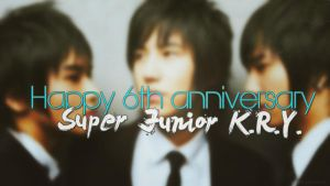 Super Junior K.R.Y. 6th Anniversary by NileyJoyrus14
