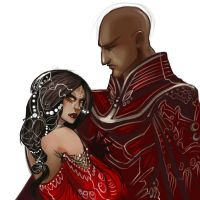 Zurine and Zigor by KimberlySwan