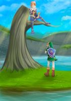 -- Best Moments: Link and Sheik -- by Kurama-chan