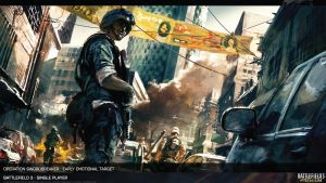 Battlefield 3 Artwork Operation Swordbreaker HD by Pixero111