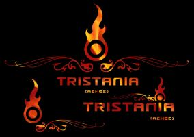 Tristania Ashes Logo Pack by Negura