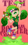 Splatfest: Congrats Roller Coasters! by around4oclock