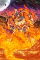Behold Galvatron Toy colours by LiamShalloo