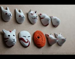 Masks by whitefrosty