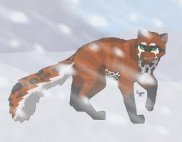 Russet- Snow leopardified by Russetpelt-07