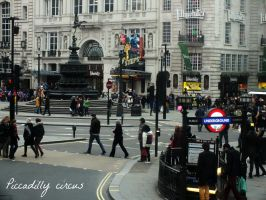 Piccadilly circus by MarinaDW
