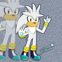 Silver the Hedgehog by JFlare205