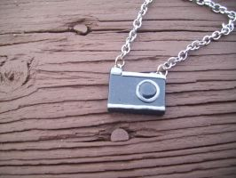 Camera necklace by TinyDelights