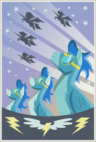Wonderbolts Poster by Stinkehund