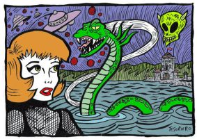 Loch Ness by AlexItchyScratchy by RossRadiation