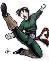 Rock Lee Detroit Fan Fare 2012 by ComfortLove