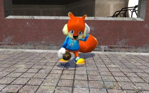 Poor Conker by GlitchyProductions