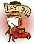 Don't Starve MOD: Professor Layton by capcappucca222