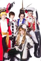 Hetalia: Pirate Group by DascocoCosplay
