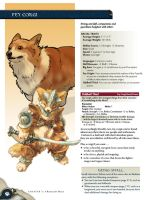 4E Homebrew - Fey Corgi (Corgyn) by heather-hellion