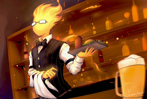 Grillby by Neofox67