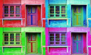 Renkli Kapilar-Colored Doors by hizMA