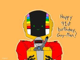 Happy B-Day, Guy-Man! by irenereru
