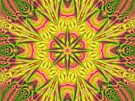 Happy Colors Kaleidoscope by wildwanderingirl