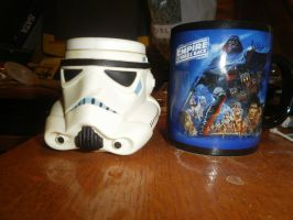 Stormtrooper and ESB Mug by The-Jedi-Exile