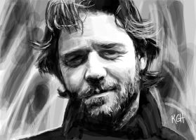 Russell Crowe by Artist-KGH