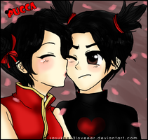 Pucca and Garu by sasukee23loveeer