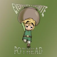 That Diabolical Pothead Toon Link! by Parimak
