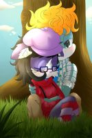 By the Tree by CloudyCrayon