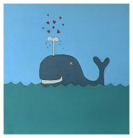 Hello whale by BlackCloudConnected