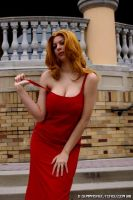 Matsumoto Formal Red dress 2 by HoodedWoman