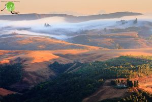 Countryside Dawn by Photomerwe