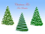 Christmas Tree Free Brushes by xara24