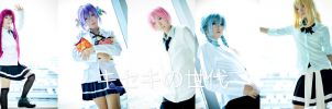 Kiseki no sedai ver.Gender bending #02 by azukajung