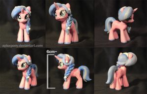Mini figure oc for JDRIZZLE by AplexPony