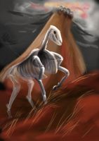 Ghost horse by LadyProphet