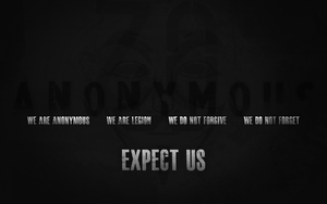 Expect Us by dyslexaphobia