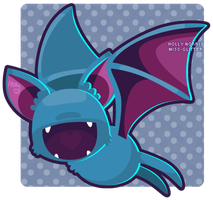 041 Zubat by Miss-Glitter