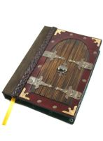 Castle Doors Leather Journal by McGovernArts
