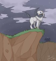Dramatic Absol by Amphany