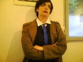 Supernatural- Female!Castiel Cosplay by Artieukchan