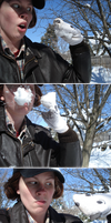a Murdockian snowball fight by birdewilliams
