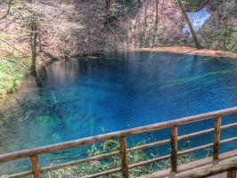 Blue Pond in Aomori (Japan) by g-hennux